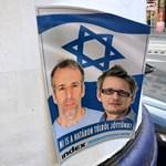 Az amerikai követség szerint visszataszító az indexes újságírókról készített antiszemita plakát