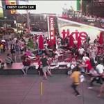 Pánik tört ki New Yorkban, úgy tűnt, hogy fegyveres támadó van a Times Square-en
