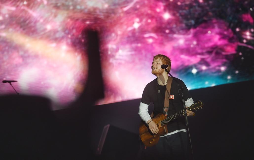tg.19.08.07. Sziget fesztivál Ed Sheeran koncert