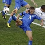 Újabb meglepetés a focivébén: Olaszország nem bírt Új-Zélanddal