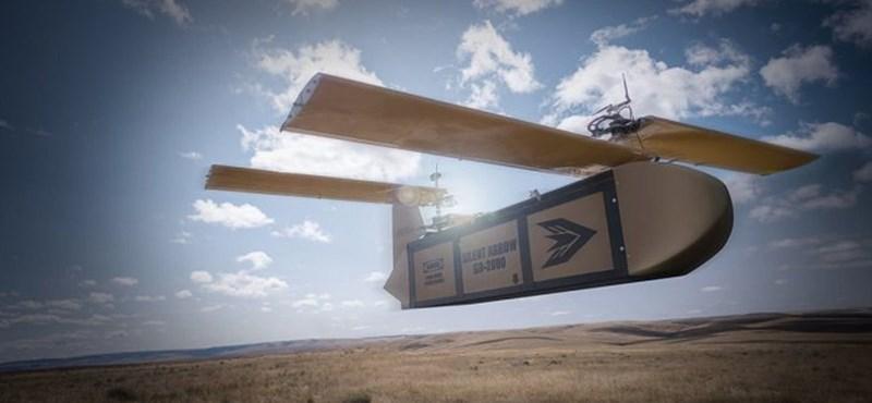 Különleges drónnal segíthetik a katonákat a harctéren