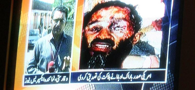 Hamis a halott bin Ladenről közzétett fotó