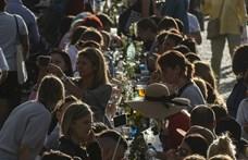 Bulival búcsúztatták a koronavírust a csehek