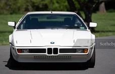 Ritka alkalom: eladó egy nagyon ritka BMW M1
