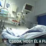 Már nincs lélegeztetőgépen a fiatal focista, akit négyszer hoztak vissza a klinikai halálból
