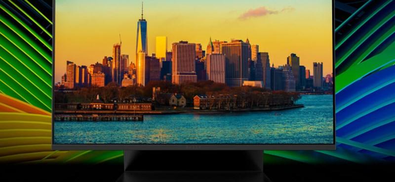 Monitort is készített játékosok számára a Razer