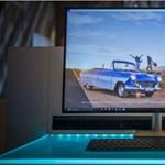Bejelentették a világ első 8K monitorát