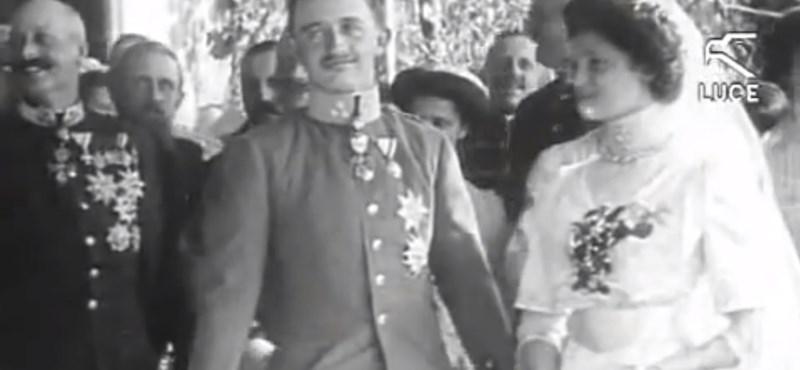 Királyi esküvő? Ritka videót posztolt Ferenc József leszármazottja IV. Károlyról