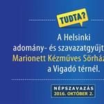 Máris találtak új helyet a Magyar Helsinki Bizottság népszavazásos rendezvényéhez