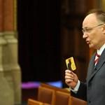 Felfüggesztették az ittasan vezető Burány Sándor mentelmi jogát