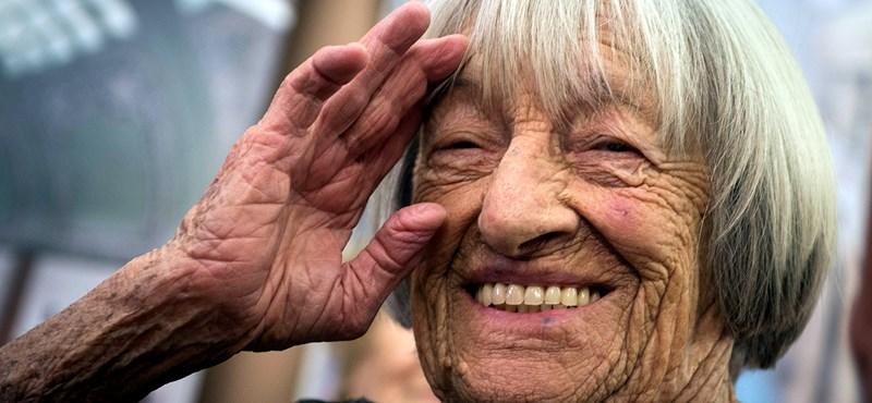 99 éves Keleti Ágnes, a legeredményesebb magyar tornász