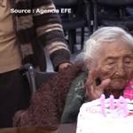 118 éves lett a világ legidősebbnek tartott embere, Julia mama – videó