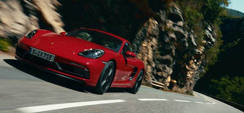 Élménygép: kereken 400 lóerős a legújabb kis Porsche