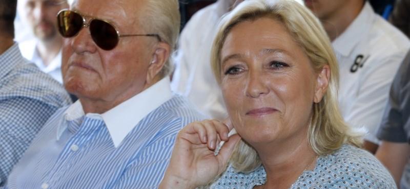 Le Pen lányának nem tetszett, amit apja mondott