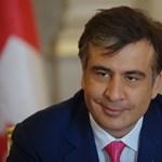 Videó: ráfanyalodott a nyakkendőjére a grúz elnök