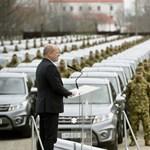 """Gyakorlatilag létrejött egy Suzuki """"hadosztály"""" a honvédségnél"""