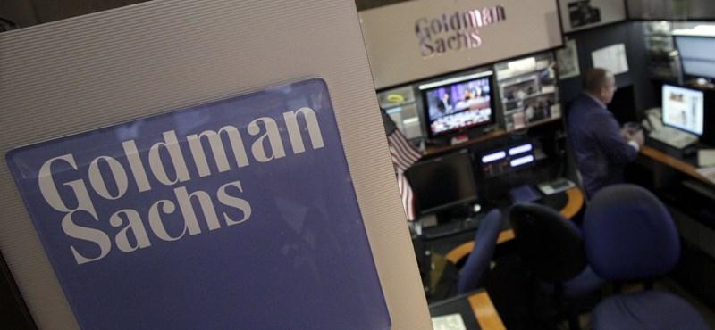 Goldman Sachs: a globális gazdaság túljutott a nehezén