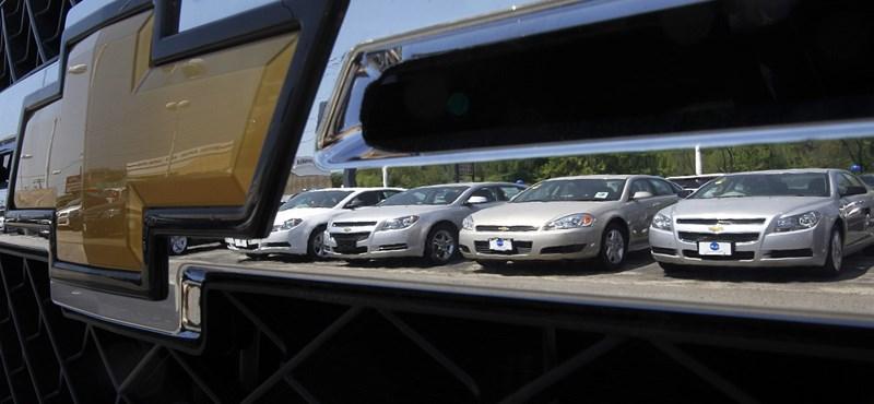 Közel 7 millió autót érintő visszahívást rendel el a General Motors