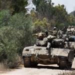 Izrael kiterjeszti a szárazföldi hadműveletet