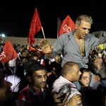 Fotók: hősként fogadták Rámálláhban a palesztin foglyokat