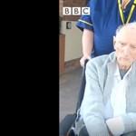 Állva tapsolták a nővérek a koronavírusból meggyógyult 99 éves veteránt – videó