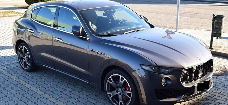 Nem sok ilyen 30 milliós Maserati van az utakon, ráadásul ez lopott is