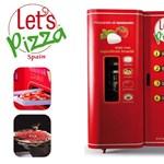 Dübörög a pizza-automata