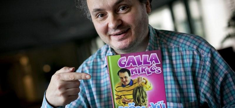 Galla Miklós: infantilis, intelligens könyvet írtam