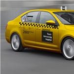Lefotózták a forgalomban az új sárga taxit