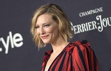Cate Blanchett megvágta a fejét láncfűrésszel