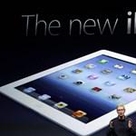 A hétvégére lesz új iPad itthon is