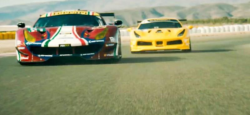 Első hivatalos videóján gyakorlatilag berobban a legújabb Ferrari, a 488 GTO