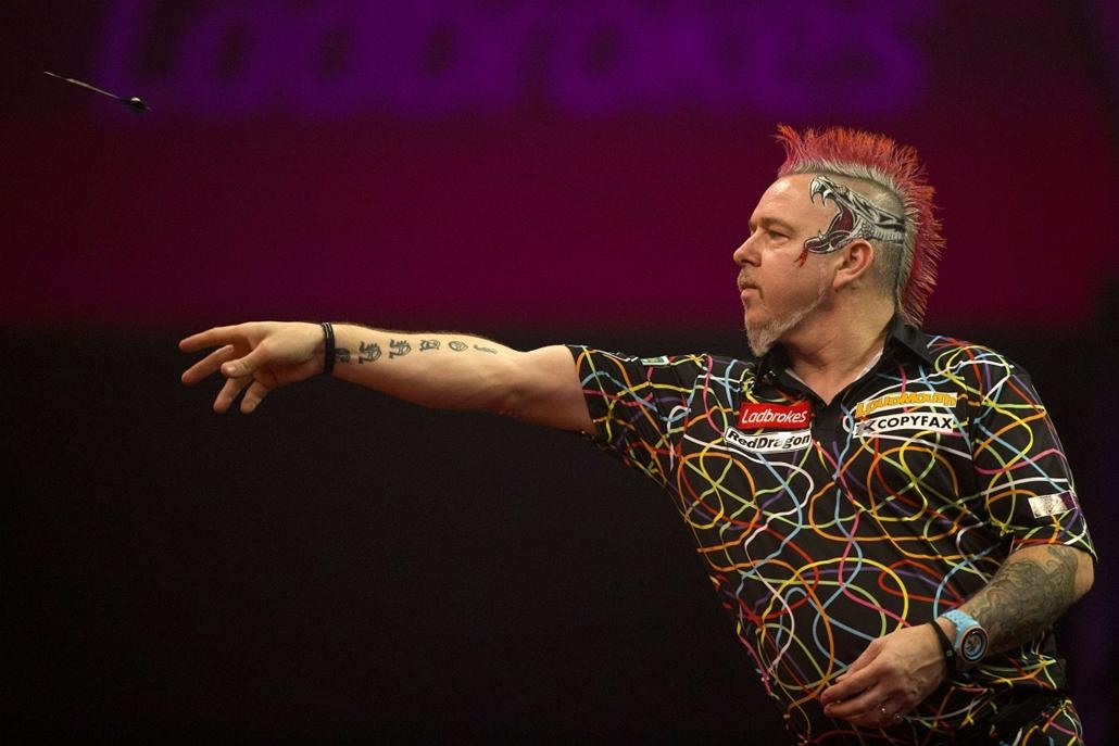 afp. hét képe - 2014.01.01. Peter Wright, London, Anglia, PDC World Championship Darts