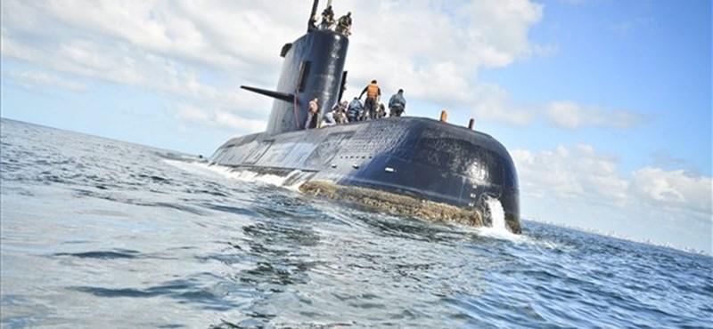 Szokatlan zajt rögzítettek egy hete az argentin tengeralattjáró útvonalának térségben