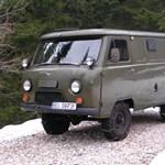 UAZ Expedíció, Szibéria
