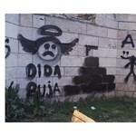 Ókori emlékművet fújtak össze graffitisek Óbudán