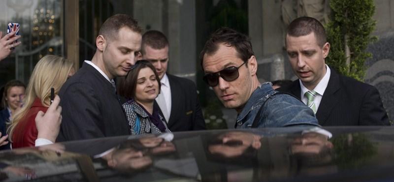 Veszélyes jeleneteket forgatott Jude Law csapata a Balatonnál