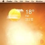 A hét Maces alkalmazása: Időjárás a Desktopon - Quick Weather Mini