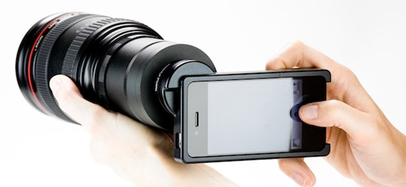 Varázsoljon cserélhető objektíves gépet az iPhone-ból!