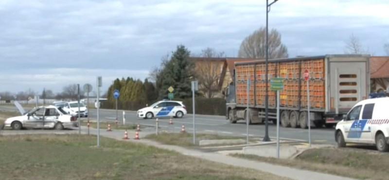 Egy 8 éves kislány halt meg a domaszéki balesetben