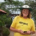 2500 kilométert sétált egy 63 éves férfi, hogy pénzt gyűjtsön az utcán élő gyerekeknek