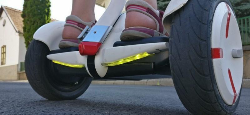Kitiltja az V. kerület a segwayeket és beerbike-okat a sétálóutcákból