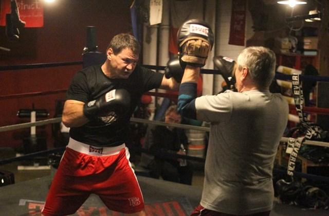 Erdei Zsolt bokszoló Amerikában