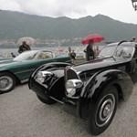 Díjat nyert Ralph Lauren 40 millió dolláros veterán Bugattija - fotók