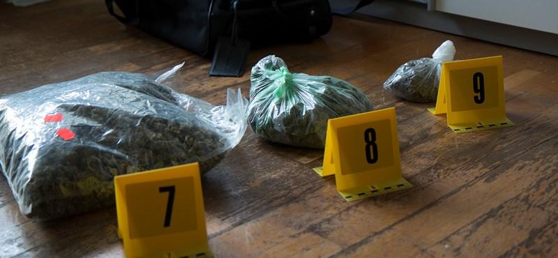Drogbandát számoltak fel Pesten