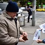 Fotók: Már terítik a Népszabadság rendkívüli kiadását