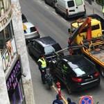 A lakók tudta nélkül vitték el az autóikat a IX. kerületben egy forgatás miatt