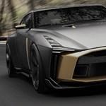 Ennél nincs feljebb: határok nélküli GT-R sportkocsit mutatott be a Nissan
