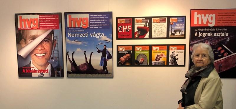 Tatabányára megy a HVG címlapjait bemutató kiállítás
