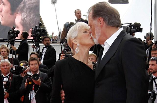Helen Mirren Oscar-díjas brit színésznő és férje, Taylor Hackford Oscar-díjas brit rendező